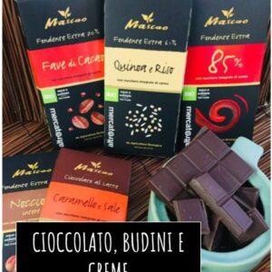 Cioccolato, Budini e Creme